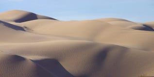 Algodones sand dunes near border of Arizona and California Stock Photos