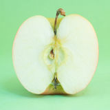 Section of apple Royalty Free Stock Image