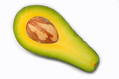 Section of avocado Stock Photography