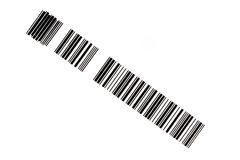 Section of a bar code Royalty Free Stock Images