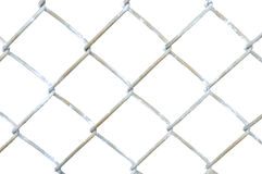 Section of Chain Link Fence Stock Image