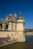 Section of the Chantilly Castle, France Stock Photography