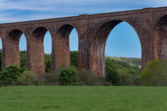 Section of Culloden train viaduct. Royalty Free Stock Photos