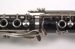 Section de Clarinet Photo stock