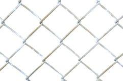 Section de frontière de sécurité de maillon de chaîne image stock