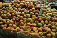 Section de fruit au supermarché de Hyperstar Images libres de droits