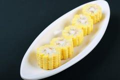 Section de maïs Photo stock