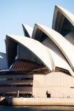 Section de plan rapproché de Sydney Opera House Photos libres de droits
