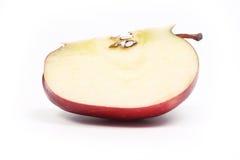 Section de pomme rouge Images libres de droits