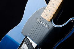 Close-up of an Electric Guitar Royalty Free Stock Photo
