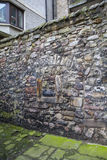 Section of the King's Wall in Edinburgh Stock Images