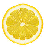 Section lemon isolated Stock Images