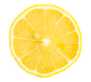 Section of lemon Stock Photography
