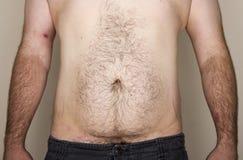 Section médiane normale d'homme faisant face à l'appareil-photo Photos stock