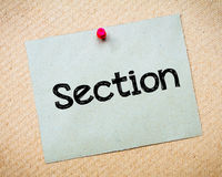 Section Royalty Free Stock Images