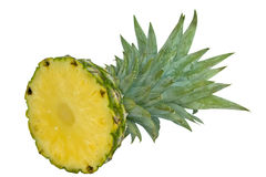 Section of pineapple Stock Image