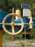 The section of the pipeline Stock Image