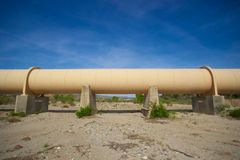 Section of Pipeline Stock Photo