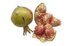 Section of pomegranate Royalty Free Stock Photography