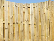 Section Of Property Fence Stock Images