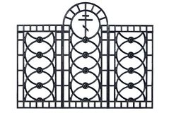Section of the railing. Royalty Free Stock Image