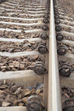 Section of Railway Track. Stock Photos