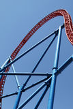 Section of Roller Coaster Royalty Free Stock Photography