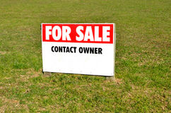 Section for sale sign stock photos