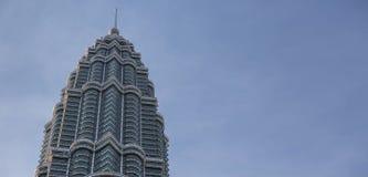Section supérieure de tour de Petronas Images stock
