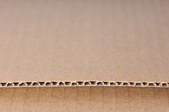 Brown card board paper Stock Photography