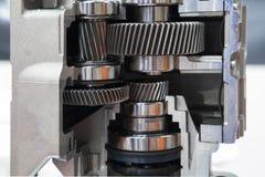Section transversale de la pompe industrielle images stock