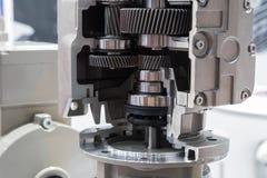 Section transversale de la pompe industrielle photo libre de droits