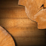 Section of Tree Trunk  - Background Royalty Free Stock Photos