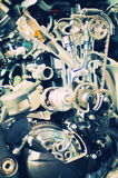 Section view from a motorcycle engine Royalty Free Stock Photos