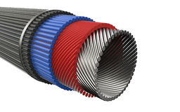 Sectional cable Stock Images