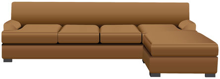 Sectional Sofa Stock Photos