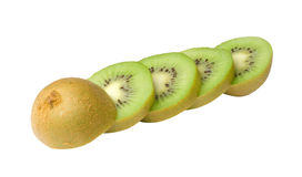 Sections of kiwi fruit Stock Photo