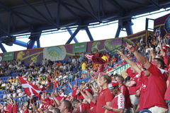 Sector Danish fans Royalty Free Stock Photo