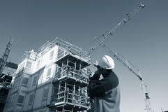 Sector de la construcción Fotografía de archivo