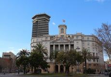 Sector Naval De Catalunya, Barcelona, Spain. Government building in Barcelona, Spain Royalty Free Stock Image
