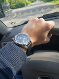 Sector watch. Classy sector watch while driving with style Stock Photos