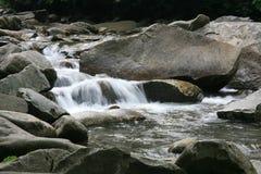 Secuencia ahumada de la montaña Foto de archivo libre de regalías