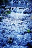Secuencia azul fotografía de archivo