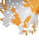Secuencia de datos de Digitaces Fotografía de archivo libre de regalías
