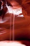 Secuencia de la arena en barranca del antílope Fotos de archivo libres de regalías
