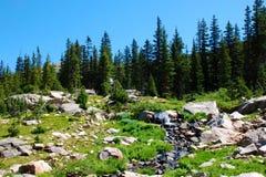 Secuencia de la montaña foto de archivo