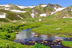 Secuencia de la montaña fotografía de archivo libre de regalías