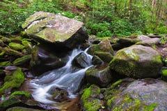 Secuencia de la montaña Imagen de archivo