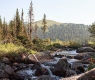 Secuencia de la montaña Fotos de archivo libres de regalías