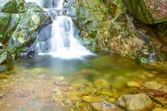 Secuencia de la montaña Foto de archivo libre de regalías